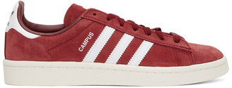 adidas Burgundy Campus Sneakers