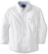 Tommy Hilfiger Classic L/S Woven Shirt (Toddler/Little Kid)