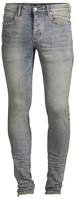 Purple Brand P001 Slim Fit Faded Jeans