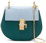 Chloé Faye contrast satchel - women - Calf Leather/Calf Suede - One Size