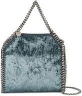 Stella McCartney Small Crushed velvet Falabella tote bag