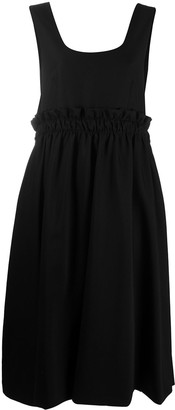 Comme des Garcons Belted Asymmetric Dress