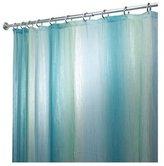 InterDesign Ombre Print Shower Curtain, Blue/Green