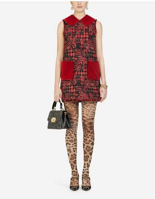 Dolce & Gabbana Short Tweed Dress