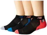New Balance Adaptive Low Cut 3-Pack Low Cut Socks Shoes