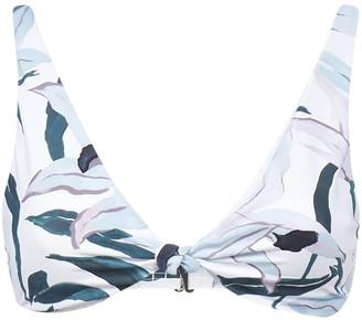 Tory Burch Printed Bikini Top