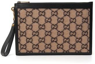 Gucci GG Zipped Clutch Bag