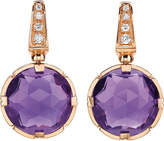 Bvlgari Parentesi cocktail 18kt pink-gold earrings