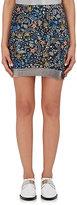 Paco Rabanne Women's Chain-Mail & Floral Silk Miniskirt