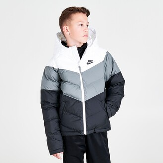 Nike Kids' Sportswear Chevron Colorblock Puffer Jacket