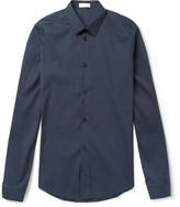 Balenciaga - Slim-fit Cotton-blend Poplin Shirt