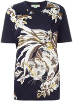 Stella McCartney cat print T-shirt