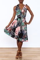 Aryeh Woven Floral Dress