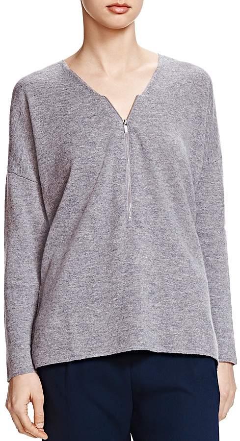 The Kooples Zip Front Sweater