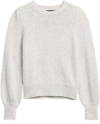 Banana Republic Puff-Sleeve Sweater