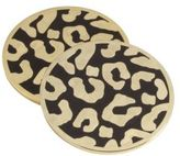 L'OBJET Leopard Coasters/Set of 4