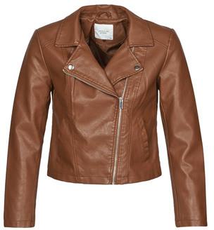 JDY JDYSIMBA women's Leather jacket in Bordeaux