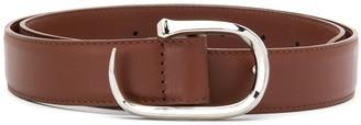 Orciani Lotus leather belt