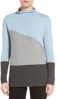 Vince Camuto Colorblock Turtleneck Sweater (Regular & Petite)