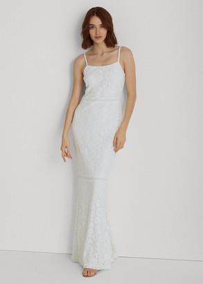 Ralph Lauren Lace Gown