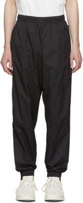 adidas Black Lock Up Logo Track Pants