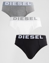 Diesel Briefs In 3 Pack Multi