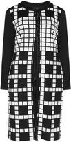 Tia Dresses Plus Size Geometric print jersey jacket