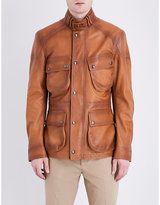 Ralph Lauren Purple Label Thornhill Leather Jacket