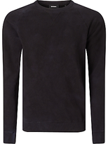 Diesel S-bros Crew Neck Jumper, Peacoat Blue