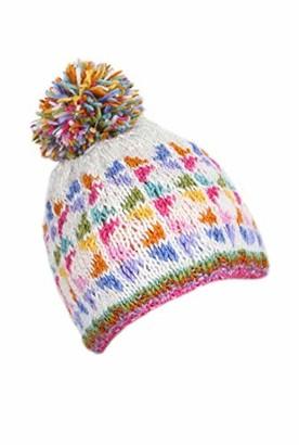 Pacha Mama Pachamama 100% Wool Oban Bobble Hat Multi-Coloured