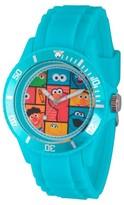 Sesame Street Unisex Unisex Blue Plastic Watch - Blue