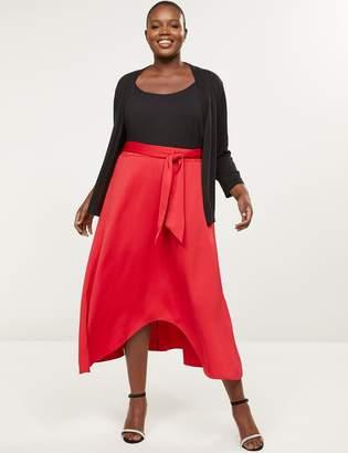 Lane Bryant High-Low Midi Skirt