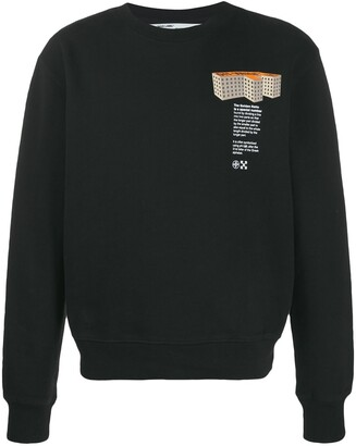 Off-White F Building sweatshirt