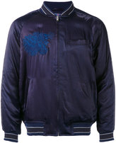 Blue Blue Japan embroidered bomber jacket - men - Cotton/Nylon/Polyester/Rayon - M