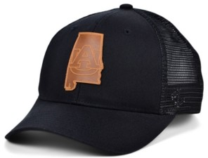 Zephyr Auburn Tigers Expedition Patch Trucker Cap