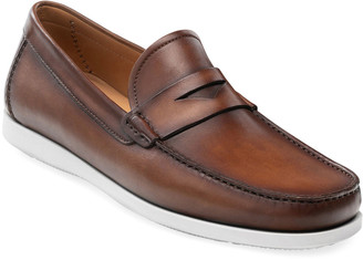 Magnanni Men's Laguna Leather Penny Loafer Sneakers