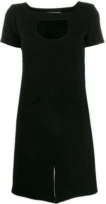 Courreges cut-out shift dress