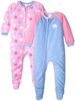 Gerber 2 Pack Blanket Sleepers (Toddler) - Cupcake Dots - 2T