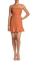Lush Sleeveless Print Dress