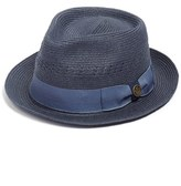 Men's Goorin Brothers 'Boogie' Braided Straw Fedora - Blue