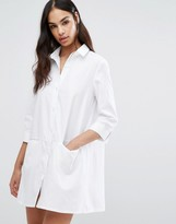 Missguided Pocket Shirt Dress