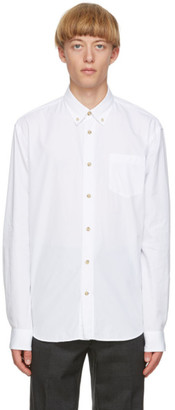 Acne Studios White Cotton Poplin Shirt