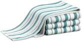 Williams-Sonoma Williams Sonoma Stripe Towels, Set of 4, Aqua