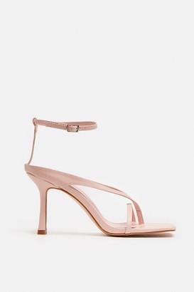 Coast Square Toe Strappy Heels