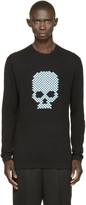 Markus Lupfer Black Skull Thomas Sweater