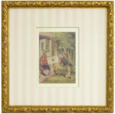 The Well Appointed House Alice in Wonderland XII Framed Print