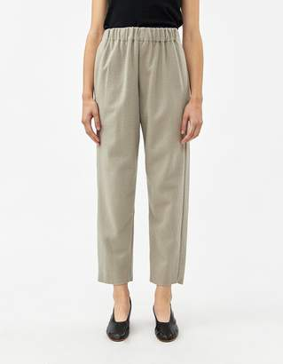 Black Crane Easy Pant in Ash