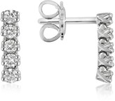 Forzieri 0.37 ctw Five-Stone Drop Diamond 18K Gold Earrings