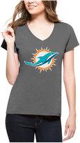 '47 Women's Miami Dolphins Splitter Logo T-Shirt