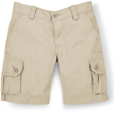Ralph Lauren Basic Sand Military Chin Gellar Shorts - Toddler & Boys